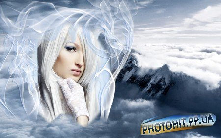 Рамка для фотографии - Среди облаков Эвереста